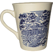 Liberty Blue Tall Mugs Set of 4