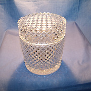 Diamond Cut Crystal Box