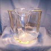 Orrefors Mid Century Petal Vase