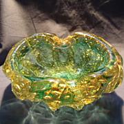 Barovier Coronado d' oro Bowl/Ashtray