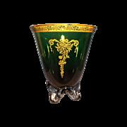 Tiffin Killarney Green Vase