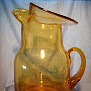 Blenko 4 Quart Pitcher 1973
