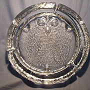 Blenko Owl Cigar Ashtray