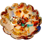 Colorful Vintage Murano Bowl