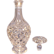 Boda Cut Beveled Diamond Decanter