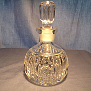 Vintage Cut Crystal Perfume Bottle