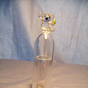 Figural Glass Perfume Dome