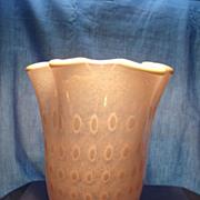 Murano Bullicante Vase