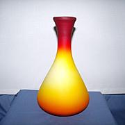 Imperial Peach Blow Vase