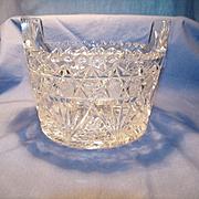 Cut Glass Ice Tub