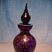 Murano Copper and Cobalt Perfume
