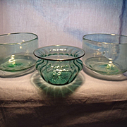 Three Clevenger Finger Bowls