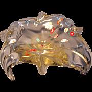 Art Nouveau Art Glass Bowl