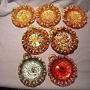 7 Murano Glass Nappys