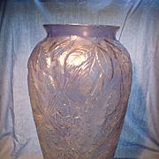 Phoenix  Glass Floor Vase or Umbrella Stand