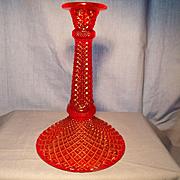 Westmoreland  Circa 1927 Ruby Candleholder
