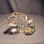 Goebel Crystal Pig Figurine