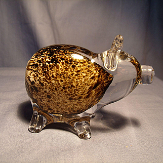 Prestige Art Glass Pig