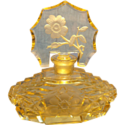 Cut and Engraved Czech Perfume