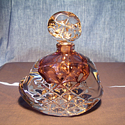 Judith C Via Art Glass Perfume Bottle