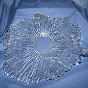 Distinctive Scandinavian Glass - Tapio Wirkala Ice Crystal Bowl