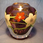 Orient and Flume Paperweight Vase