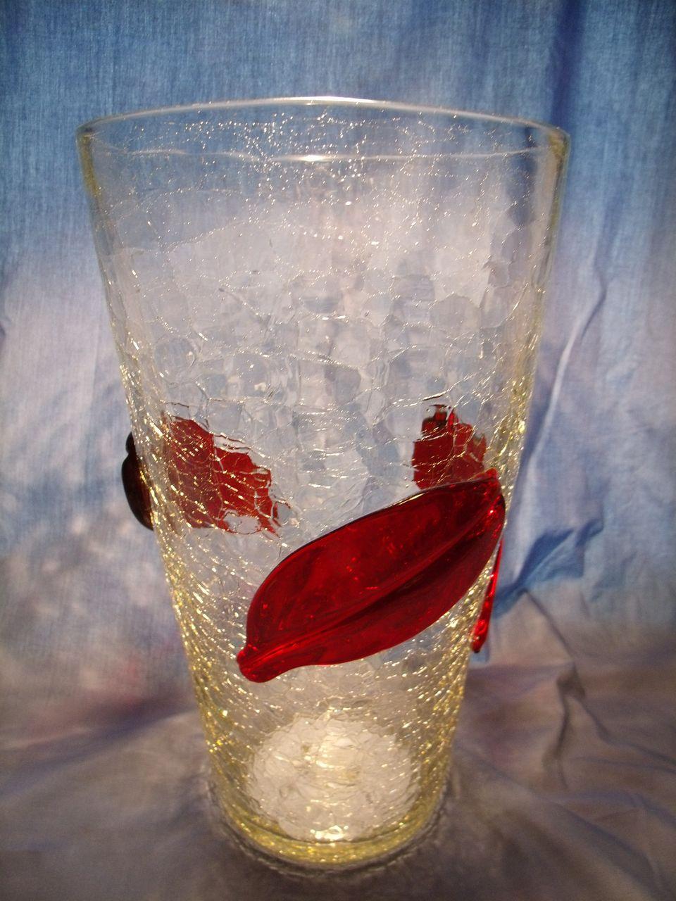 Blenko 366LL Leaf Vase