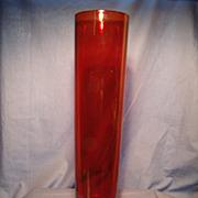 Blenko - Joel Myers Cylinder Vase