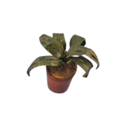 Vintage Miniature Potted Plant