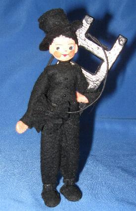 German Baps Chimney Sweep Doll C 1940 S From Glzrbug On