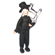 German BAPS Chimney Sweep Doll c 1940's