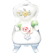 German Fairyware Miniature Chair