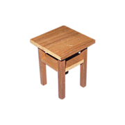 Miniature Wood Telephone Table marked The White House
