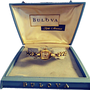 Bulova Fifth Avenue Ladies' Watch Box and Case.