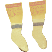 1950s Dolly Socks.  Never Used.  Free Postage