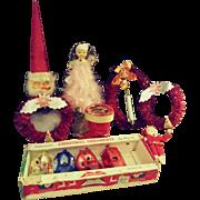 A Mess o' Christmas Ornaments and Decor