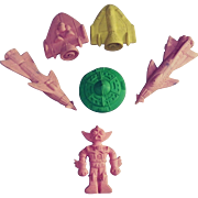 1950s Space Erasers.