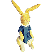 1950s-60s Bunny from Au Naine Bleu Toy Store in Paris