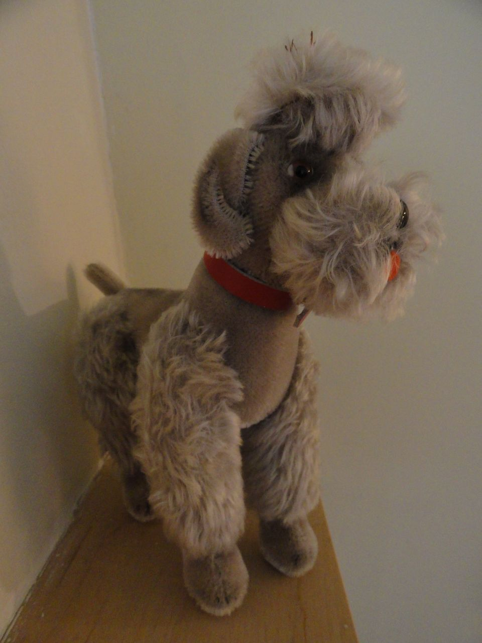 Vintage Steiff Jointed Poodle From Darling On Ruby Lane