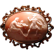 Cameo of Hector going off to war