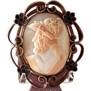 Fabulous large cameo of Menelaus with centaur