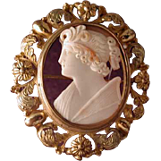 Unique cameo of Calliope
