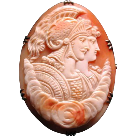 French cameo of Hector and wife