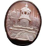Cameo of the Spanish Steps