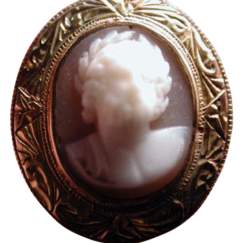 Fabulous Zeus cameo ring