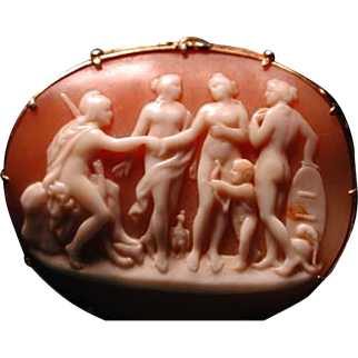Judgement of Paris cameo