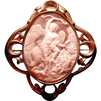 Eros with Lion -love conquers