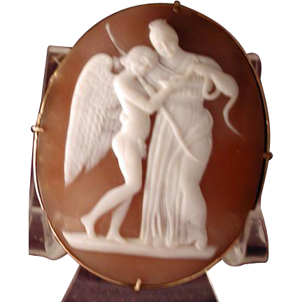 Lovely cameo of Eros