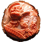 Huge cameo of Menelaus and Agamemmnon