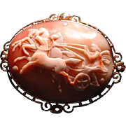 Large cameo fo Eos with horses and stars